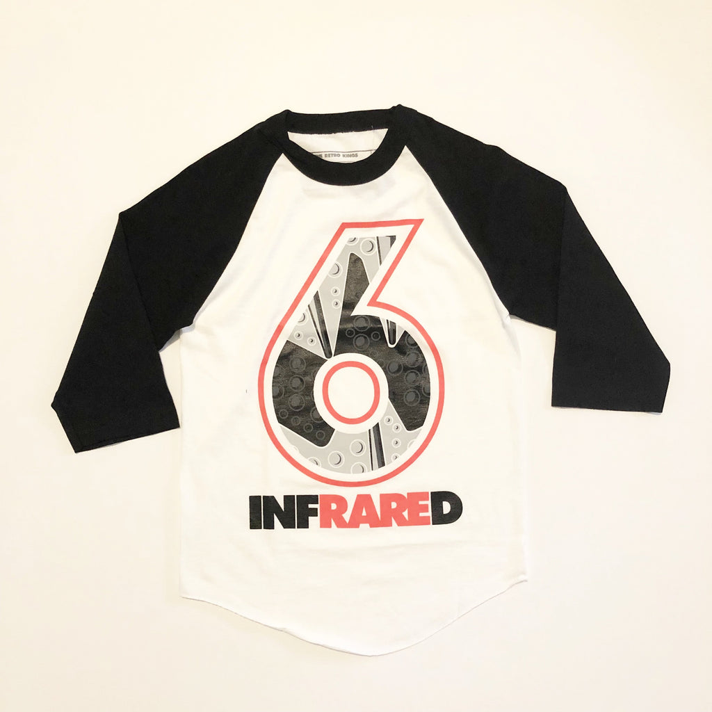 504b386ce86f Retro Kings Clothing Infrared 6s Baseball Tee – Exquisite Streetwear Shop