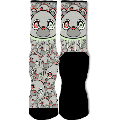 Rufnek Hardware Bear Pure Platinum Foams Socks