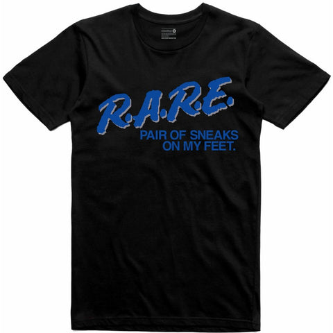 Retro Kings Clothing Rare Blue Suede 5s Tee