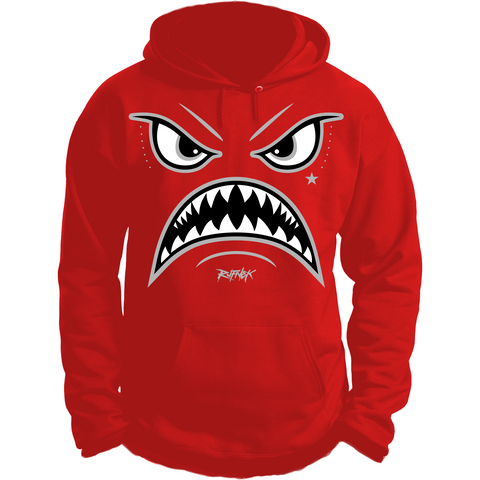 Rufnek Hardware Warface Red Suede 5s Hoodie