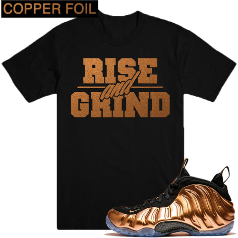 Dapper Sam Rise and Grind Copper Foams Tee