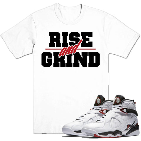 Dapper Sam Rise and Grind Alternate 8s Tee