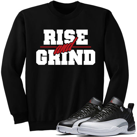 Dapper Sam Rise and Grind Playoff 12s Crewneck