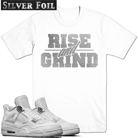 Dapper Sam Rise and Grind Pure Money 4s Tee