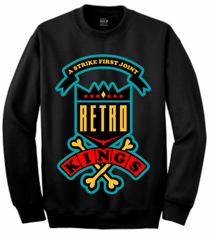 Retro Kings Clothing Daze Dream it Do it 9s Crewneck