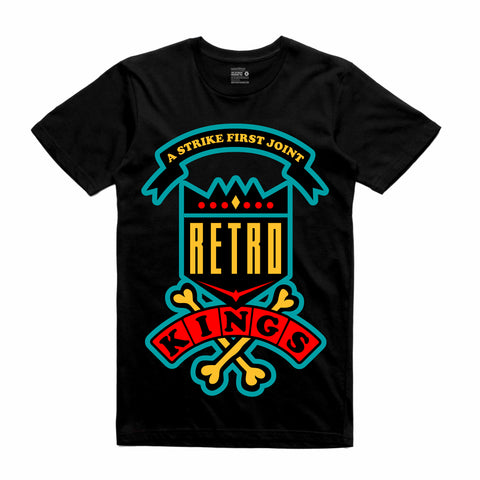 Retro Kings Clothing Daze Dream it Do it 9s Tee