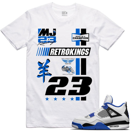 Retro Kings Clothing Pitcrew Motorsports 4s Tee