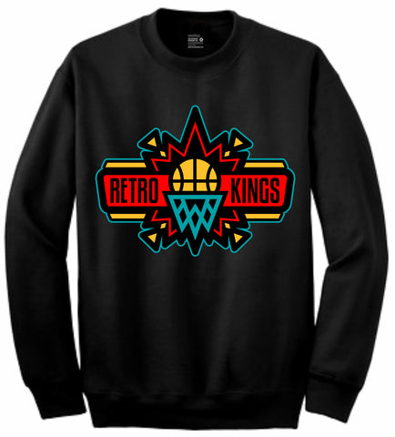 Retro Kings Clothing Slam Dream it Do it 9s Crewneck