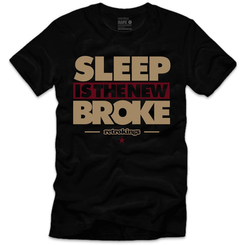 Retro Kings Clothing Sleep Maroon Foams Tee