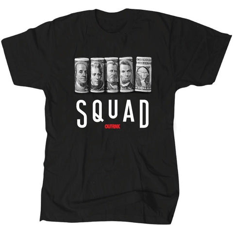 OutRank Apparel Squad Banned 1's Tee
