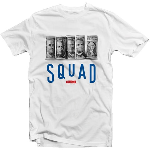 OutRank Apparel Squad True Blue 3's Tee