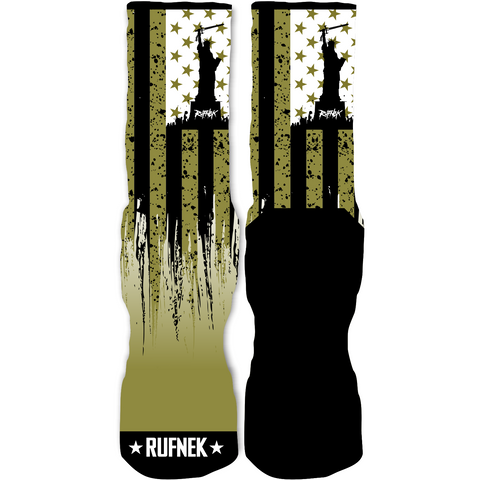 Rufnek Hardware Flag of the Free Statue 9 Socks