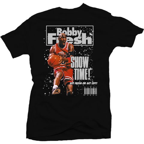 Bobby Fresh Show Time Metallic 5's Tee