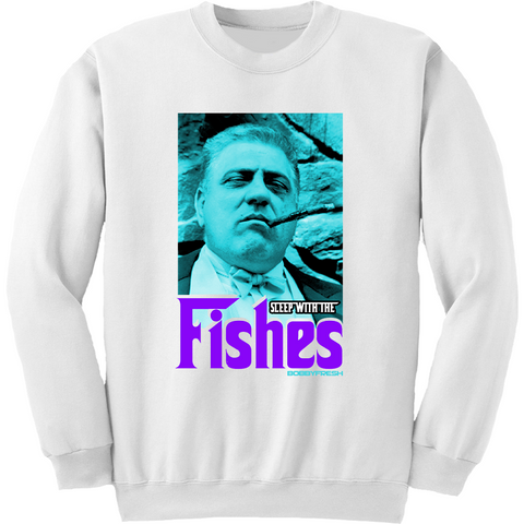 Bobby Fresh Fishes Aqua 8s Crewneck