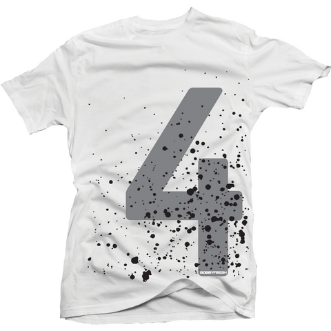 Bobby Fresh Splatter Cement 4s Tee
