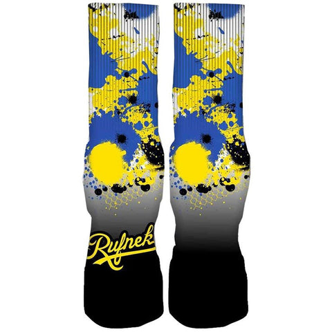 Rufnek Hardware Custom Laney 5's Socks