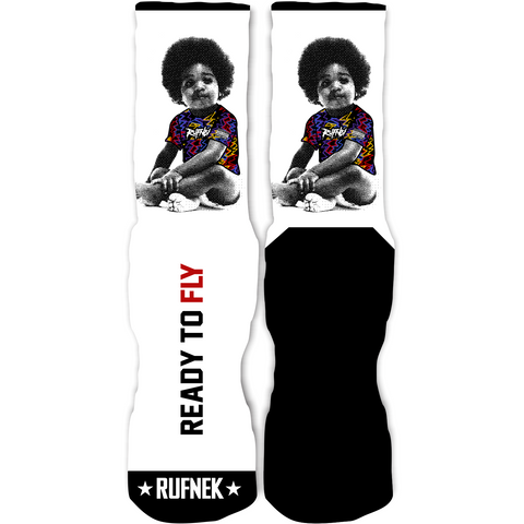 Rufnek Hardware Ready To Fly Sweater 7s Socks