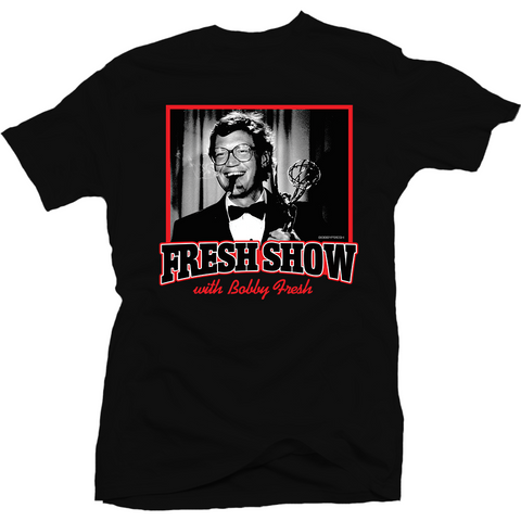Bobby Fresh The Fresh Show Flu Game 12's Tee