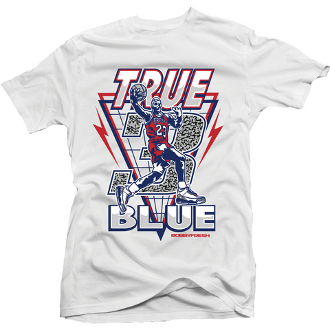 Bobby Fresh True MJ 3 True Blue 3's Tee