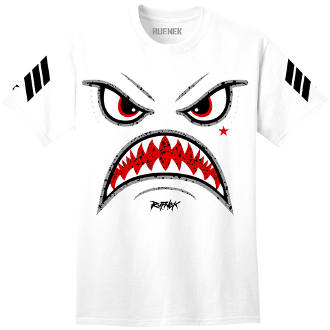Rufnek Hardware Warface White Cement 5s Shirt
