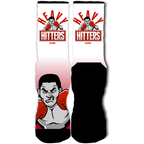 Rufnek Hardware Heavy Headers Gym Red 12's Socks