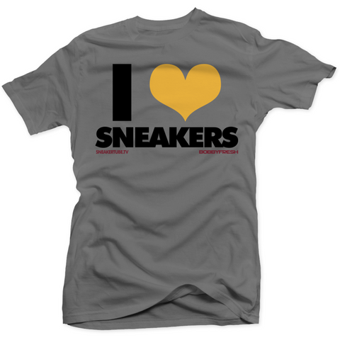 Bobby Fresh I Love Sneakers Bordeaux 7's Tee