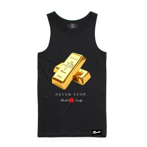 Hasta Muerte Gold Bricks Tank