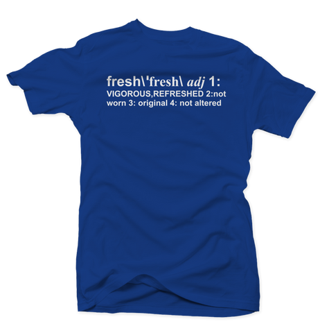 Bobby Fresh Definition Royal 13s Tee