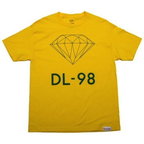 Diamond Supply Co DL-98 Tee in Yellow
