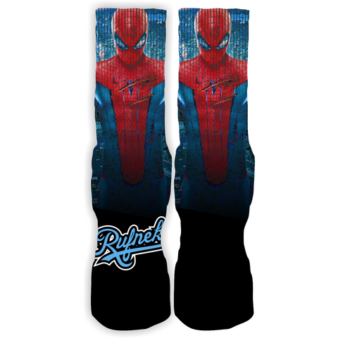 Rufnek Hardware Custom Spiderman Socks