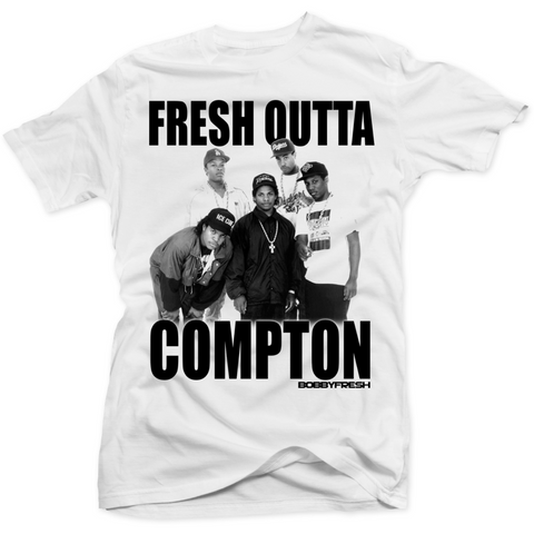 Bobby Fresh Outta Compton Chrome 6 Tee