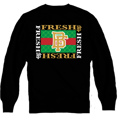 Bobby Fresh Gucci Gold Gucci Foams Crewneck