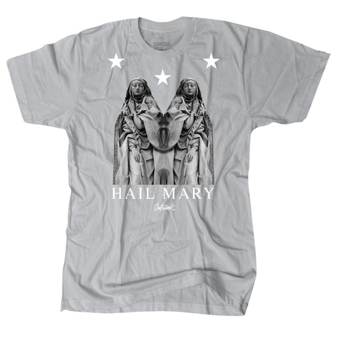 OutRank Apparel Hail Mary Cool Grey 10s Tee