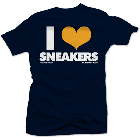 Bobby Fresh I Love Sneakers Dunk From Above 4's Tee
