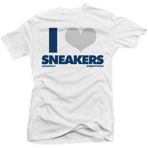 Bobby Fresh I Love Sneakers French Blue 12's Tee