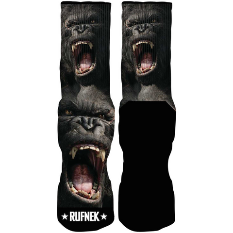 Rufnek Hardware Custom King Kong Socks