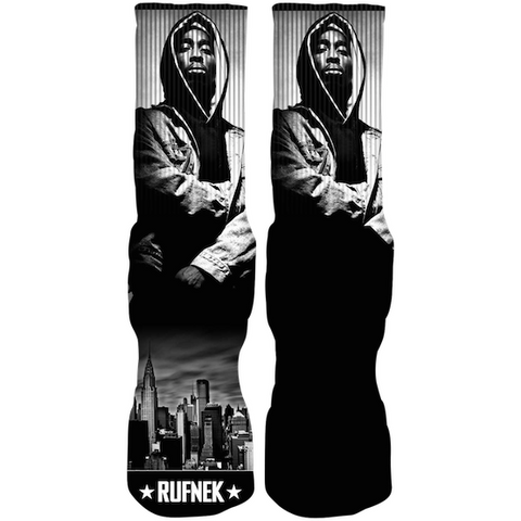Rufnek Hardware Custom Juice Grey Socks