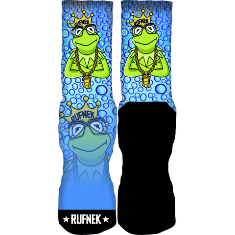 Rufnek Hardware Custom Kermit Socks