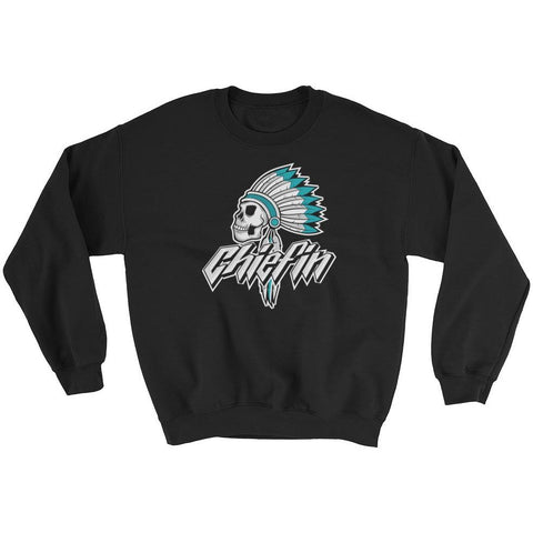 Savage Chiefin' Island Green Foams Sweatshirt