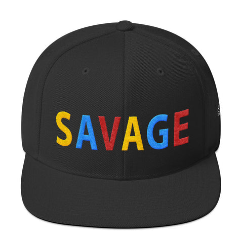 Savage All Caps Dream It Snapback