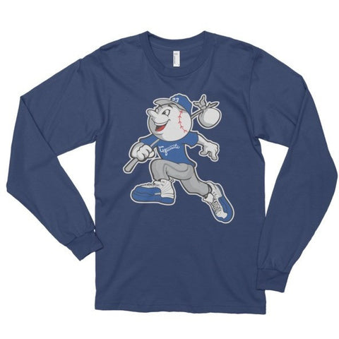 Exquisite Mr. Exquisite French Blue 12's Long Sleeve Tee