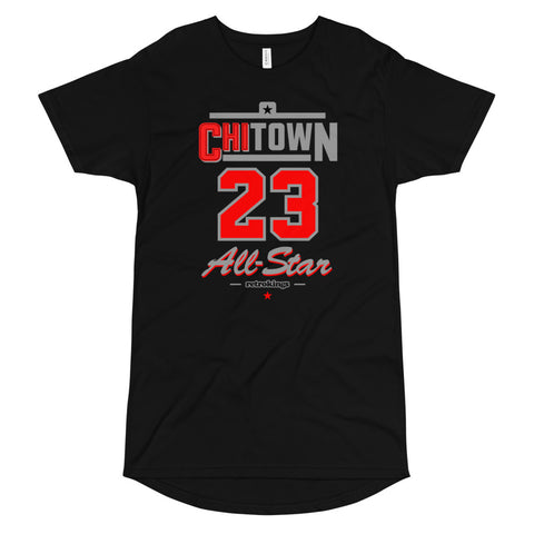 Retro Kings ChiTown Bred 4s Elongated tee