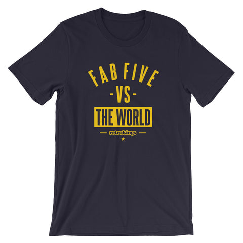 Retro Kings Fab Five Michigan 12s Standard Tee