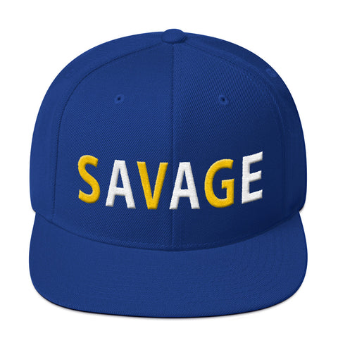 Savage All Caps Laney 5s Snapback Hat