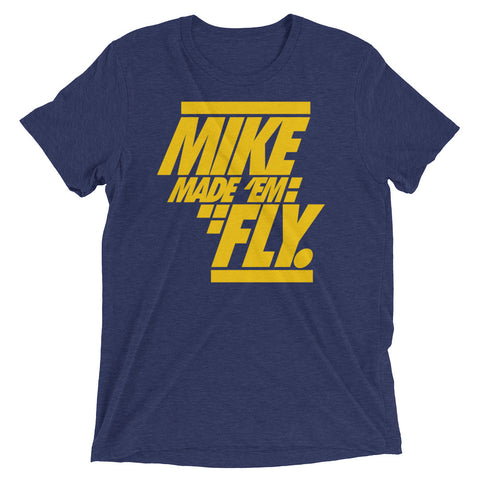 Savage Made 'em Fly Michigan 12s Premium Fit Tee