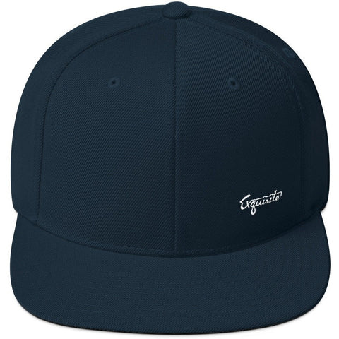 Exquisite Small Logo Snapback Hat