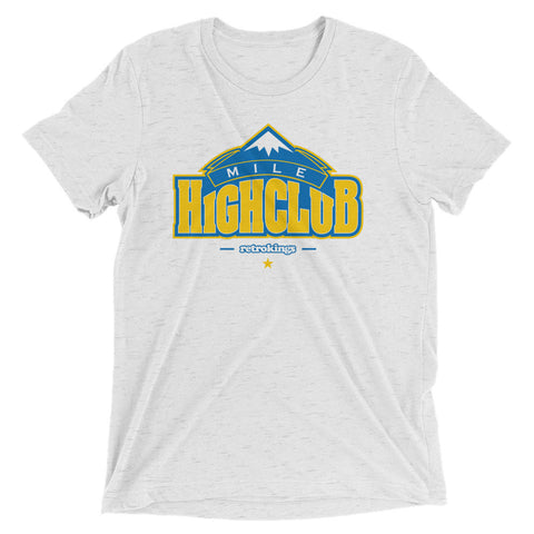 Retro Kings Mile High Club Melo 2s Premium Fit Tee