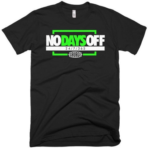 Savage No Days Off Volt Tee