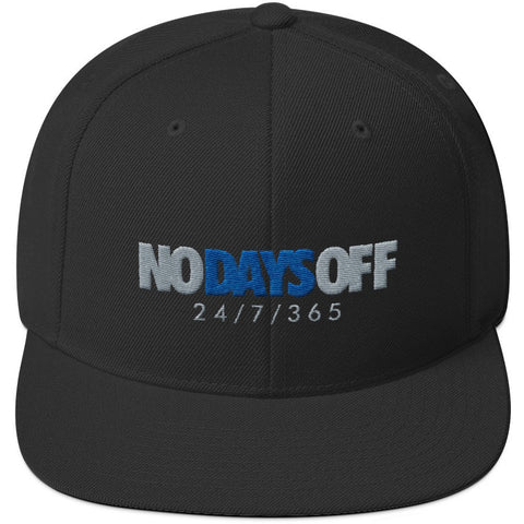 Savage No Days Off Alternate Motorsport 4s Snapback