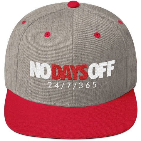Savage No Days Off Snapback
